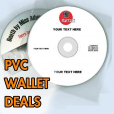 CD Duplication In PVC Wallets